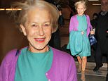 LOS ANGELES, CA - DECEMBER 14: Helen Mirren is seen at LAX on December 14, 2015 in Los Angeles, California.  (Photo by GVK/Bauer-Griffin/GC Images)