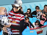 Reign Aston and Mason Disick who share the same birthday spend the day with kourtney Kardashian, Kris Jenner and  Kayne west at the magic kingdom of Disney land.\n\nPictured: Reign Aston and Mason Disick, kourtney Kardashian, Kris Jenner and Kayne west\nRef: SPL1195615  141215  \nPicture by: Clint Brewer / Splash News\n\nSplash News and Pictures\nLos Angeles: 310-821-2666\nNew York: 212-619-2666\nLondon: 870-934-2666\nphotodesk@splashnews.com\n
