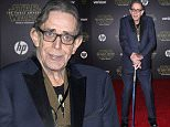 """Actor Peter Mayhew attends the World Premiere of """"Star Wars: The Force Awakens"""", in Hollywood, California, on December 14, 2015.AFP PHOTO /VALERIE MACONVALERIE MACON/AFP/Getty Images"""