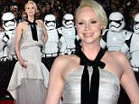 OIC - FEATUREFLASH.COM - Gwendoline Christie at the Los Angeles Premier of Star Wars the Force Awakens in Los Angeles 14th December 2015\nPhoto Paul Smith/FeatureFlash/OIC\nCall OIC 0203 174 1069 for fees and usages or contact@oicphotos.com