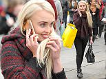 Hollyoaks star Jorgie Porter spotted in Manchester doing a spot of shopping at M&S and Selfridges in her home city after returning from I'm a Celebrity Get Me Out of Here in Australia. The blond bombshell who finished 5th and will soon be returning to her day job of acting in the soap.\\n\\n14/12/2015\\n\\n***EXCLUSIVE ALL ROUND***\\n\\n\\n\\n