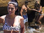 6 DECEMBER 2015 SYDNEY AUSTRALIA\nEXCLUSIVE PICTURES \nPia Miller pictured with her husband Brad Miller and son at Coogee Beach enjoying a swim and some quality time together as a family. \n*No internet without clearance*.\nMUST CALL PRIOR TO USE +61 2 9211-1088. Matrix Media Group.Note: All editorial images subject to the following: For editorial use only. Additional clearance required for commercial, wireless, internet or promotional use.Images may not be altered or modified. Matrix Media Group makes no representations or warranties regarding names, trademarks or logos appearing in the images.