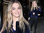 Picture Shows: Louisa Johnson  December 14, 2015    'X Factor' winner Louisa Johnson looks fresh faced after her first day of interviews. Louisa greeted fans outside the Spotify offices in London.     Non-Exclusive  Worldwide Rights    Pictures by : FameFlynet UK © 2015  Tel : +44 (0)20 3551 5049  Email : info@fameflynet.uk.com