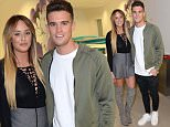 PHOTO BY: STEVE FINN 07968894444\nPICTURE SHOWS:  Charlotte Crosby And Gaz Beadle at MTVís head quarters for an exclusive screening of the penultimate episode of this seasonís Geordie Shore: The Greek Odyssey. The cast will watch the show whilst enjoying a Geordie Christmas dinner, and all streamed live on Periscope via @mtvgeordieshore! MTV Headquarters.Camden.London.Uk.Today.15/12/15\nSPEC' IMAGE\nstevefinnphotography@yahoo.co.uk\n