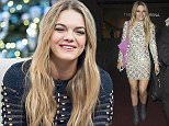 Picture Shows: Louisa Johnson  December 13, 2015    VIP guests and 'The X Factor' stars seen leaving the studio after the wrap party in Wembley, London.    Non Exclusive  WORLDWIDE RIGHTS    Pictures by : FameFlynet UK © 2015  Tel : +44 (0)20 3551 5049  Email : info@fameflynet.uk.com