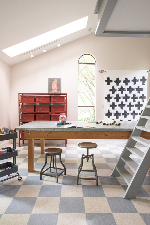 How to Build a Giant Work Table