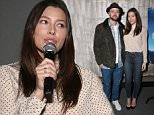 LOS ANGELES, CA - DECEMBER 16:  Justin Timberlake and Jessica Biel attend a Celebration of MERU Screening And Reception at RED Studios on December 16, 2015 in Los Angeles, California.  (Photo by Todd Williamson/Getty Images for Music Box Films)