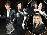 17 Dec 2015 - LONDON - UK  RONNIE WOOD AND SALLY HUMPHREYS SEEN AT SCALA NIGHTCLUB IN LONDON FOR WAVE MAKERS: A CONCERT TO BENEFIT OUR OCEANS.  BYLINE MUST READ : XPOSUREPHOTOS.COM  ***UK CLIENTS - PICTURES CONTAINING CHILDREN PLEASE PIXELATE FACE PRIOR TO PUBLICATION ***  **UK CLIENTS MUST CALL PRIOR TO TV OR ONLINE USAGE PLEASE TELEPHONE   44 208 344 2007 **