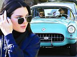 "Picture Shows: Kendall Jenner  December 16, 2015\n \n Reality star turned model Kendall Jenner drives her classic car to a friend's house in Los Angeles, California. Rumors are swirling that Kendall wants her sister Kylie to dump her boyfriend Tyga after he sent her a ""scathing"" text message. \n \n Non-Exclusive\n UK RIGHTS ONLY\n \n Pictures by : FameFlynet UK © 2015\n Tel : +44 (0)20 3551 5049\n Email : info@fameflynet.uk.com"