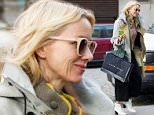 Mandatory Credit: Photo by Startraks Photo/REX/Shutterstock (5494714a)\n Naomi Watts\n Naomi Watts out and about, New York, America, New York, America - 16 Dec 2015\n Naomi Watts goes shopping at Ralph Lauren\n