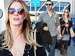 16 Dec 2015 - LOS ANGELES - USA  LEAN RIMES & EDDIE CIBRIAN AT LAX   BYLINE MUST READ : XPOSUREPHOTOS.COM  ***UK CLIENTS - PICTURES CONTAINING CHILDREN PLEASE PIXELATE FACE PRIOR TO PUBLICATION ***  **UK CLIENTS MUST CALL PRIOR TO TV OR ONLINE USAGE PLEASE TELEPHONE  44 208 344 2007 ***