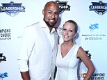 LOS ANGELES, CA - JULY 13:  NFL Hank Baskett and actress Kendra Wilkinson attended the 4th Annual Champions For Choice In Education Pre-ESPY Event at Luxe Hotel on July 13, 2015 in Los Angeles, California.  (Photo by Leon Bennett/Getty Images)
