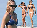 EXCLUSIVE: Stars of Made in Chelsea Stephanie Pratt and Lucy Watson seen on holiday in the Maldives at the Marriott resort  Pictured: Lucy Watson and Stephanie Pratt Ref: SPL1185396  161215   EXCLUSIVE Picture by: Sirc/Splash News  Splash News and Pictures Los Angeles: 310-821-2666 New York: 212-619-2666 London: 870-934-2666 photodesk@splashnews.com
