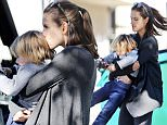 EXCLUSIVE: Alessandra Ambrosio picks up her son in her arms and twirls him around after kissing him on the head. \n\nPictured: Alessandra Ambrosio\nRef: SPL1193119  161215   EXCLUSIVE\nPicture by: Splash News\n\nSplash News and Pictures\nLos Angeles: 310-821-2666\nNew York: 212-619-2666\nLondon: 870-934-2666\nphotodesk@splashnews.com\n