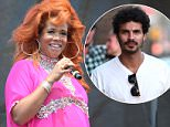 Kelis perform at the AfroPunk Festival at the Commodore Barry Park, Brooklyn, NYC......Ref: SPL1108765  240815  ..Picture by: Derek Storm / Splash News....Splash News and Pictures..Los Angeles: 310-821-2666..New York: 212-619-2666..London: 870-934-2666..photodesk@splashnews.com..