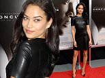 """NEW YORK, NY - DECEMBER 16:  Model Shanina Shaik attends the """"Concussion"""" New York premiere at AMC Loews Lincoln Square on December 16, 2015 in New York City.  (Photo by Andrew Toth/FilmMagic)"""