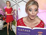 LONDON, ENGLAND - DECEMBER 17:  Rachel Riley opens the Natwest Family Fun Zone at Winter at Southbank Centre to raise funds for Evelina London Children's Hospital on December 17, 2015 in London, England. \nPic credit: Dave Benett\n