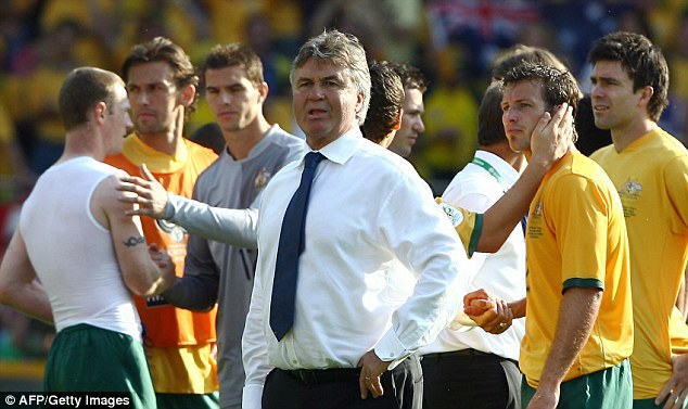The Dutchman guided the Socceroos to the 2006 FIFA World Cup Finals