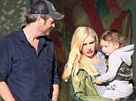 EXCLUSIVE: ** PREMIUM EXCLUSIVE RATES APPLY**  Gwen Stefani and Blake Shelton play happy families as the couple dine with Gwen's son Apollo at Loteria Grill in Studio City, CA.\n\nPictured: Gwen Stefani and Blake Shelton \nRef: SPL1198395  181215   EXCLUSIVE\nPicture by: Brooks/Kreusch/Splash News\n\nSplash News and Pictures\nLos Angeles: 310-821-2666\nNew York: 212-619-2666\nLondon: 870-934-2666\nphotodesk@splashnews.com\n