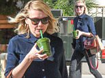 Picture Shows: Kirsten Dunst  December 18, 2015\n \n Actress Kirsten Dunst spotted out and about in Los Angeles, California. Kirsten stopped to get a green juice and looked smart in a navy blouse and skinny jeans.\n \n Non Exclusive\n UK RIGHTS ONLY\n \n Pictures by : FameFlynet UK © 2015\n Tel : +44 (0)20 3551 5049\n Email : info@fameflynet.uk.com