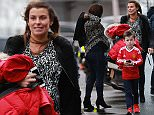 PREGNANT WAG COLEEN ROONEY ARRIVES AT OLD TRAFFORD TO WATCH HUSBAND WAYNE MAKE HIS 500TH APPEARANCE\\n\\n***********NON EXCLUSIVE*************
