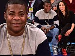 NEW YORK, NY - DECEMBER 19:  Tracy Morgan and Megan Wollover attend the New York Knicks vs Chicago Bulls game at Madison Square Garden on December 19, 2015 in New York City.  (Photo by James Devaney/GC Images)