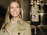 """December 18, 2015: Karlie Kloss at Gloria Steinem's """"My Life on the Road"""" Book Party at the Rainbow Room 30 Rock  in New York City. Mandatory Credit: RogerWong/INFphoto.com Ref.:infusny-146"""