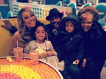 Nick Cannon Instagram Mariah Carey and the kids