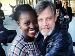 lupitanyongoI found #LukeSkywalker! And I held onto him tight! #Thunder was a little star struck, as you can see. #MarkHamill is the warmest jedi that ever did live. @starwars #theforceawakens #travelflex