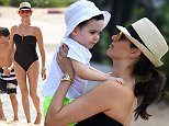 Lauren Silverman enjoys another day on the beach with Baby Eric in Barbados\n\nPictured: Lauren Silverman \nRef: SPL1199095  191215  \nPicture by: Charlie Pitt/246Paps/Splash News\n\nSplash News and Pictures\nLos Angeles: 310-821-2666\nNew York: 212-619-2666\nLondon: 870-934-2666\nphotodesk@splashnews.com\n