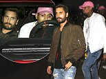 146178, EXCLUSIVE: Scott Disick and Chris Brown seen leaving Koi restaurant in a red Ferrari in West Hollywood. West Hollywood, California - Saturday December 19, 2015. Photograph: © MHD, PacificCoastNews. Los Angeles Office: +1 310.822.0419 sales@pacificcoastnews.com FEE MUST BE AGREED PRIOR TO USAGE