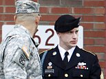 U.S. Army Sergeant Bowe Bergdahl (R) leaves the courthouse with one of his defense attorneys, Lt. Col. Franklin Rosenblatt (L), after an arraignment hearing for his court-martial in Fort Bragg, North Carolina, December 22, 2015. Bergdahl, who spent five years as a Taliban prisoner after walking away from his combat outpost in Afghanistan in 2009, did not enter a plea on Tuesday at his arraignment on charges spurred by his disappearance.  REUTERS/Jonathan Drake