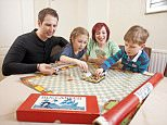 financial mos pix paul lewis;..Sarah McClure, 35and Husband Chris (30), classic board games traders ñ Children Oliver, three, and Darcy, six. Husband is Christopher, 30. Live nr Manchester. with the classic buccaneer game