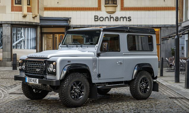 Two-millionth Land Rover Defender sells at auction for £400k
