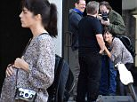 EXCLUSIVE: American actress Selma Blair displays a prosthetic baby bump as she tears down a sign on a store window on set of her new movie in Los Angeles\n\nPictured: Selma Blair\nRef: SPL1199205  211215   EXCLUSIVE\nPicture by: Splash\n\nSplash News and Pictures\nLos Angeles: 310-821-2666\nNew York: 212-619-2666\nLondon: 870-934-2666\nphotodesk@splashnews.com\n