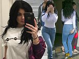 Kylie Jenner sports see-thru body suit while out to lunch in Calabasas!  Pictured: kylie jenner Ref: SPL1199771  211215   Picture by: Holly Heads LLC / Splash News  Splash News and Pictures Los Angeles: 310-821-2666 New York: 212-619-2666 London: 870-934-2666 photodesk@splashnews.com