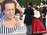 EXCLUSIVE: Richard Simmons has several Christmas carolers dressed in full Charles Dickens costumes at his house a few days before Christmas.  The reclusive Simmons who reportedly hasn't been seen in public in nearly two years is nowhere to be seen as the quartet sing several Christmas songs for the famous fitness personality/actor. \n\nPictured: Richard Simmons Christmas Carolers \nRef: SPL1199057  221215   EXCLUSIVE\nPicture by: Sharky / Splash News\n\nSplash News and Pictures\nLos Angeles: 310-821-2666\nNew York: 212-619-2666\nLondon: 870-934-2666\nphotodesk@splashnews.com\n