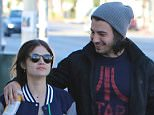 EXCLUSIVE: Happy couple Lucy Hale and Anthony Kalabretta grab a  cup of coffee to kick start the day  Pictured: Lucy Hale and Anthony Kalabretta Ref: SPL1199290  201215   EXCLUSIVE Picture by: Splash News  Splash News and Pictures Los Angeles: 310-821-2666 New York: 212-619-2666 London: 870-934-2666 photodesk@splashnews.com