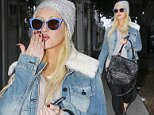 21 Dec 2015 -  West Hollywood - USA *** STRICTLY AVAILABLE FOR UK AND GERMANY USE ONLY *** *** EXCLUSIVE ALL ROUND PICTURES *** Christina Aguilera looks to be in the market for something sexy she's seen shopping on Melrose at Rag and Bone looking at sexy dresses and she leaves the lingerie store Kiki de Montparnasse.  BYLINE MUST READ : XPOSUREPHOTOS.COM ***UK CLIENTS - PICTURES CONTAINING CHILDREN PLEASE PIXELATE FACE PRIOR TO PUBLICATION *** *UK CLIENTS MUST CALL PRIOR TO TV OR ONLINE USAGE PLEASE TELEPHONE 0208 344 2007*