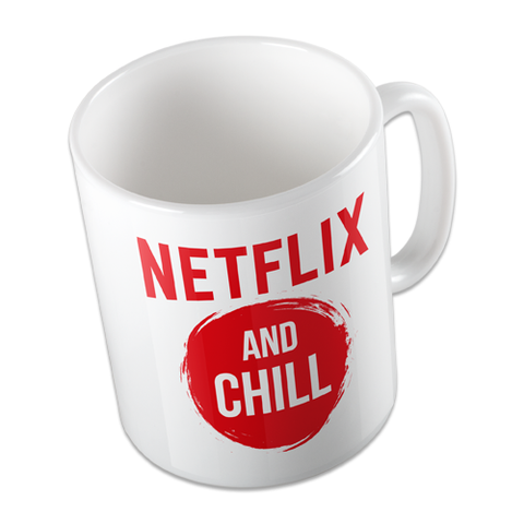 NETFLIX AND CHILL CONDOMS NETFLIX AND CHILL MUG