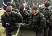 Soldiers of the Continuous Mandatory Basic Military Service in the Lithuanian Grand Duke Butigeidis Dragoon Battalion surmounted the Path of Dragoons proving themselves true dragoons. By Private Recruit Edvinas Urbonas