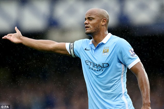 Manchester City captain Vincent Kompany looks to be back to his best form so far this season
