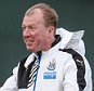 NEWCASTLE UPON TYNE, ENGLAND -  DECEMBER 22: Head Coach Steve McClaren gestures during the Newcastle United Training session at The Newcastle United Training Centre on December 22, 2015, in Newcastle upon Tyne, England. (Photo by Serena Taylor/Newcastle United via Getty Images)