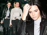 West Hollywood, CA - Kendall Jenner and Hailey Baldwin were seen trying to cover their faces as they left the Roxy but they couldn't hide their effortless style. Both were seen in black pants and boots. \nAKM-GSI        December 23, 2015\nTo License These Photos, Please Contact :\nSteve Ginsburg\n(310) 505-8447\n(323) 423-9397\nsteve@akmgsi.com\nsales@akmgsi.com\nor\nMaria Buda\n(917) 242-1505\nmbuda@akmgsi.com\nginsburgspalyinc@gmail.com