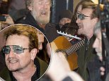 Bono, Hozier, Glen Hansard & other Irish musicians sing on Grafton Street as part of the annual charity Christmas Eve busking session in aid of homeless charities, Dublin, Ireland - 24.12.15.\nFeaturing: Glen Hasnard, Bono, Hozier\nWhere: Dublin, Ireland\nWhen: 24 Dec 2015\nCredit: WENN.com\n**Not available for publication in Ireland**