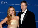 WASHINGTON, DC - MAY 03:  Sofia Vergara and Nick Loeb attend the 100th Annual White House Correspondents' Association Dinner at the Washington Hilton on May 3, 2014 in Washington, DC.  (Photo by Dimitrios Kambouris/Getty Images)
