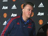 MANCHESTER, ENGLAND - DECEMBER 23:  (EXCLUSIVE COVERAGE)  Manager Louis van Gaal of Manchester United leaves after a press conference at Aon Training Complex on December 23, 2015 in Manchester, England.  (Photo by John Peters/Man Utd via Getty Images)