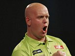 Darts - William Hill World Darts Championship - Alexandra Palace, London - 18/12/15  Michael Van Gerwen celebrates during the first round  Mandatory Credit: Action Images / Paul Childs  Livepic  EDITORIAL USE ONLY.