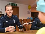 ENFIELD, ENGLAND - DECEMBER 23:  Harry Kane of Tottenham Hotspur signs autographs during the One Hotspur Junior Party on December 23, 2015 in Enfield, England. (Photo by Tottenham Hotspur FC/Tottenham Hotspur FC via Getty Images)
