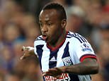 File photo dated 28-09-2015 of West Bromwich Albion's Saido Berahino. PRESS ASSOCIATION Photo. Issue date: Wednesday December 23, 2015. Saido Berahino is in line for a recall to plug West Brom's striker gap over Christmas with the Baggies braced for more interest from Tottenham. See PA story SOCCER West Brom. Photo credit should read Mike Egerton/PA Wire